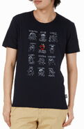 Mono comme ca ism japan 2013 t-shirt feelings with rhinestone elmo black