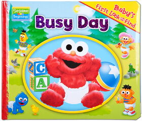 Baby busy day