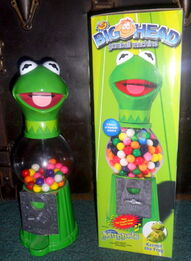 Kermit gumball machine 1