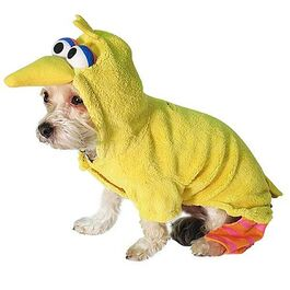 Sesame Street pet costumes (New York Dog)