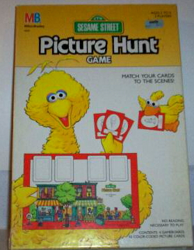 Picture hunt game