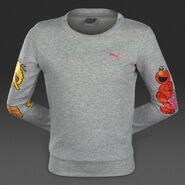 Puma grey heather top