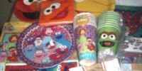 Plaza Sésamo party supplies