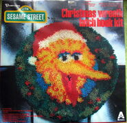 Vogart 1979 christmas latch hook kit big bird