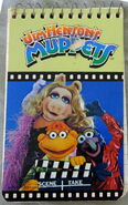 Muppet notepad notebook