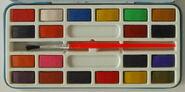 Page of london 1980 uk miss piggy paint set 2