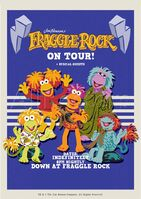 Poster Fraggle Rock-Fraggle Rock On Tour!