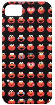 Zazzle elmo emoji pattern