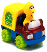Matchbox big bird's delivery truck