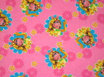Springs creative muppet fabric piggy
