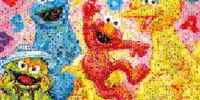 Sesame Street Mosaic Art jigsaw puzzles