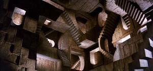 Illusionary maze