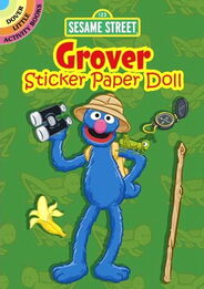 Dover grover paper doll