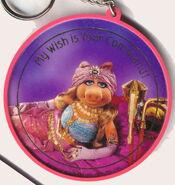 Hallmark 1980 keychain piggy wish