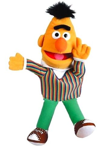 File:United labels puppet bert 2007 41cm.jpg