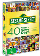 Sesamestreet40yearsofsunnydaysstandardeditiondvd