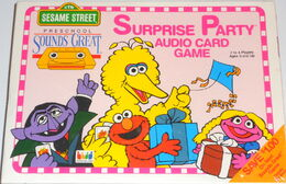 Sounds great game surprise party audio card game