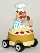 Corgi 2000 little chef swedish chef's sporty sponge car