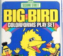 Big Bird Colorforms Play Set