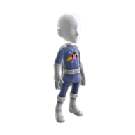 Xbox - pigs in space costume mens