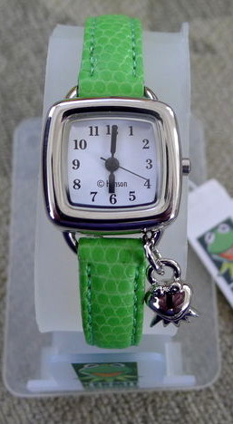 Genender international late 90s kermit charm watch k collection 1