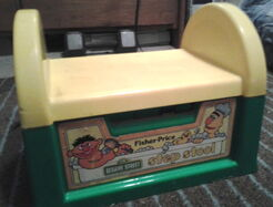Fisher price 1984 step stool 2