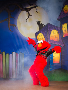 The Not-Too Spooky Howl-o-ween Radio Show elmo thriller