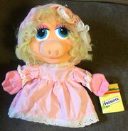 Dakin 1988 baby piggy puppet