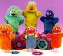 Sesame Street puppets (Sony)