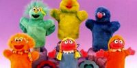 Sesame Street puppets (Sony)
