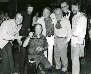 1974-PofA-NationalFestival-JimGamble-JimHenson-AlbrechtRoser-BurrTillstrom-BilBaird-JayMarshall-CarollSpinney-PhotoBy-GaryBoynton