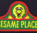 Sesame Street patches (Sesame Place)