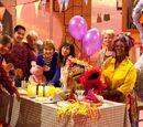 Sesamstraat viert feest