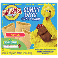 Apple Sunny Days Snack Bars