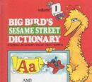 Big Bird's Sesame Street Dictionary