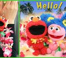 Happy Resort Elmo phone straps
