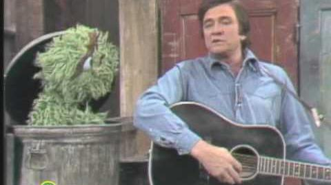Sesame Street Johnny Cash Sings Nasty Dan