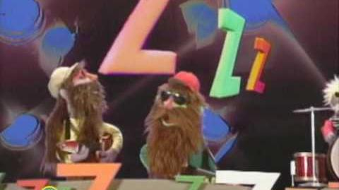 Sesame Street ZZ Blues