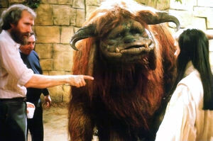 Jim directs labyrinth