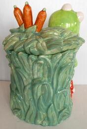 Pfaltzgraff treasure craft cookie jar kermit 4