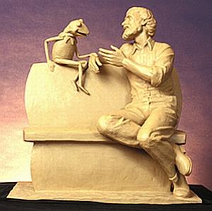 Clay statue1
