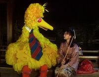 Kaguya-Hime and Big Bird