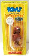 Fisher price 1979 stick puppets rowlf