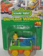 Fisher-price 1996 die-cast bert tow truck