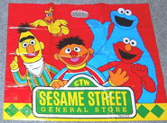 Sesame street general store shopping bags cc