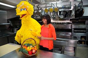 BigBird&MichelleObama