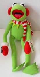 Applause 1997 kermit winter plush