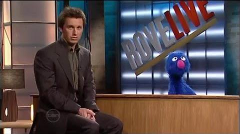Grover from Sesame Street on Rove Live - very funny interview (2005) (HQ)