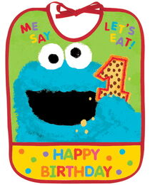 1st Birthday baby bib