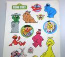 Sesame Street stickers (Japan)